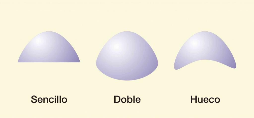 Diversas formas del cabujón de Cuarzo